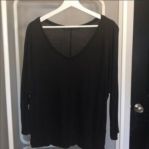 "All Saints ""Tasha"" Quarter Sleeve Shirt Sz Large"